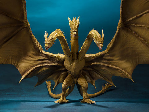 Pre Order Godzilla: King of the Monsters S.H.MonsterArts : King Ghidorah - GeekLoveph
