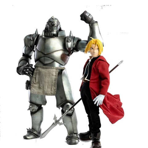 Fullmetal Alchemist: Brotherhood Edward & Alphonse Elric 1/6 Scale Figure Two-Pack - REOFFER