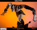 Gaming Heads - Lunging Kratos Statue
