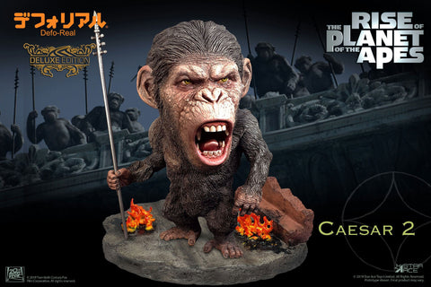 Rise of the Planet of the Apes Defor Real - Caesar (Spear) Deluxe