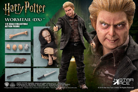 "STAR ACE TOYS HARRY POTTER - ""WORMTAIL"" PETER PETTIGREW 1/6 SCALE ACTION FIGURE DELUXE Ver."