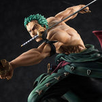 Pre Order Portrait.Of.Pirates One Piece Sa-Maximum Roronoa Zoro Ver. San Zen Se Kai - GeekLoveph