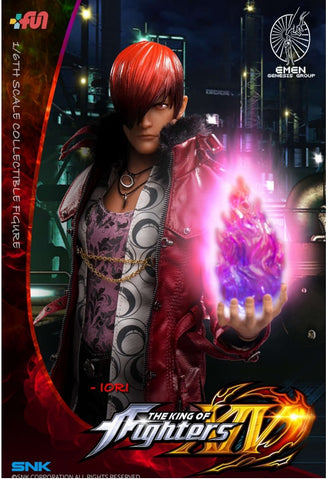 The King of Fighters XIV Iori Yagami 1/6 Scale Figure