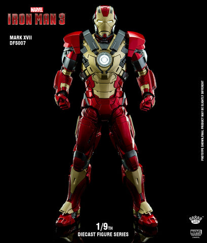 1/9 Diecast Iron Man Mark 17