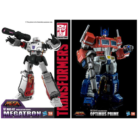 Transformers MAS-01 Optimus Prime & MAS-02 Megatron Bundle