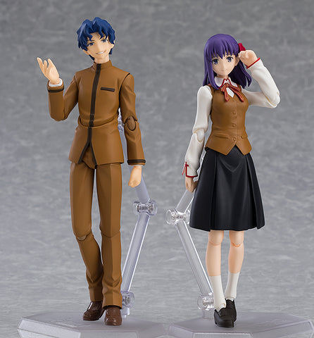 Max Factory Figma Shinji Matou & Sakura Matou Fate Stay Night Heaven's Feel