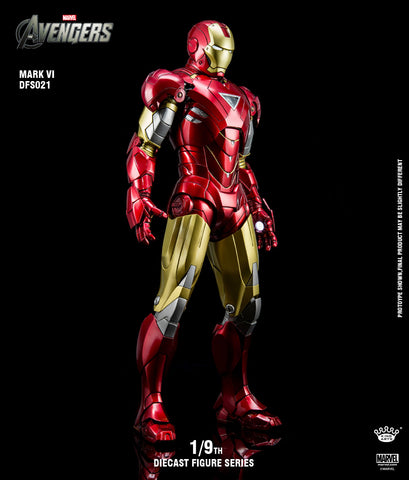 1/9 Diecast Iron Man Mark 6