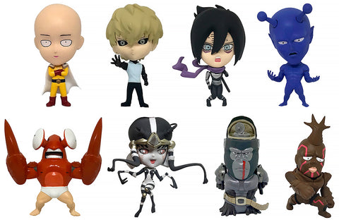 16d Collectible Figure One Punch Man Vol. 1 Set of 8