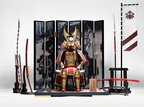 POPTOYS 1/6 EX025 Gold Lacquer Grand Armor