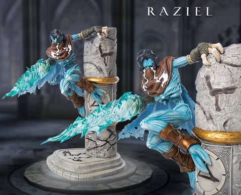 Gaming Heads - The Legacy of Kain Series: Soul Reaver 2 - Raziel Statue
