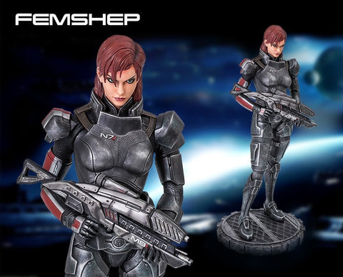 Gaming Heads - Mass Effect: Femshep - Regular statue
