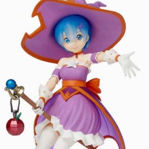 Re:Zero − Starting Life in Another World - Super Premium Rem Cute Witch Figure