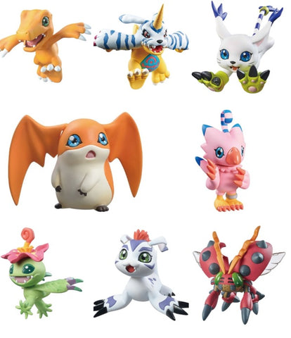 DIGIMON ADVENTURE DIGICOLLE 8-PACK MIX SET (with gift)