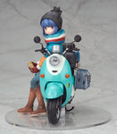 Yuru Camp - Stamp Rin Shima with Scooter
