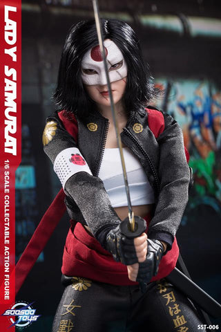 Soosootoys SST-006 1/6 scale collectible Lady Samurai