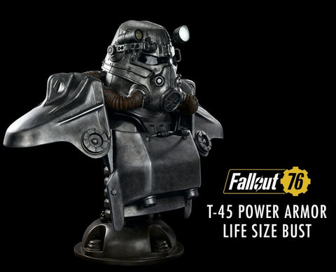 Gaming Heads - T-45 Power Armor Life Size Bust