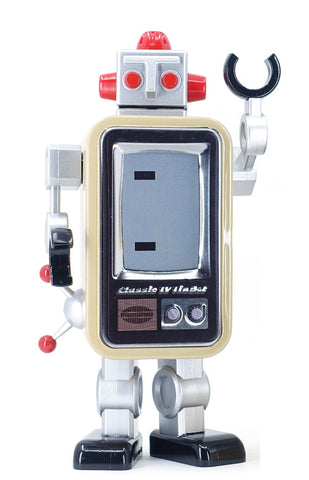 TinBot Collectibles: TV (Beige)