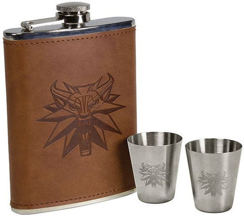 WITCHER: DELUXE FLASK SET