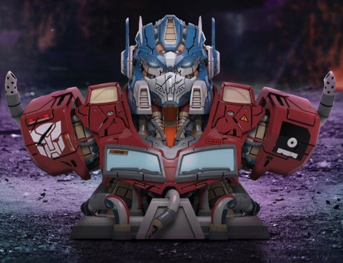Mighty Jaxx Mechasoul Optimus Prime