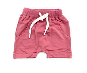 Little Bipsy Rolled Dusty Rose Shorts