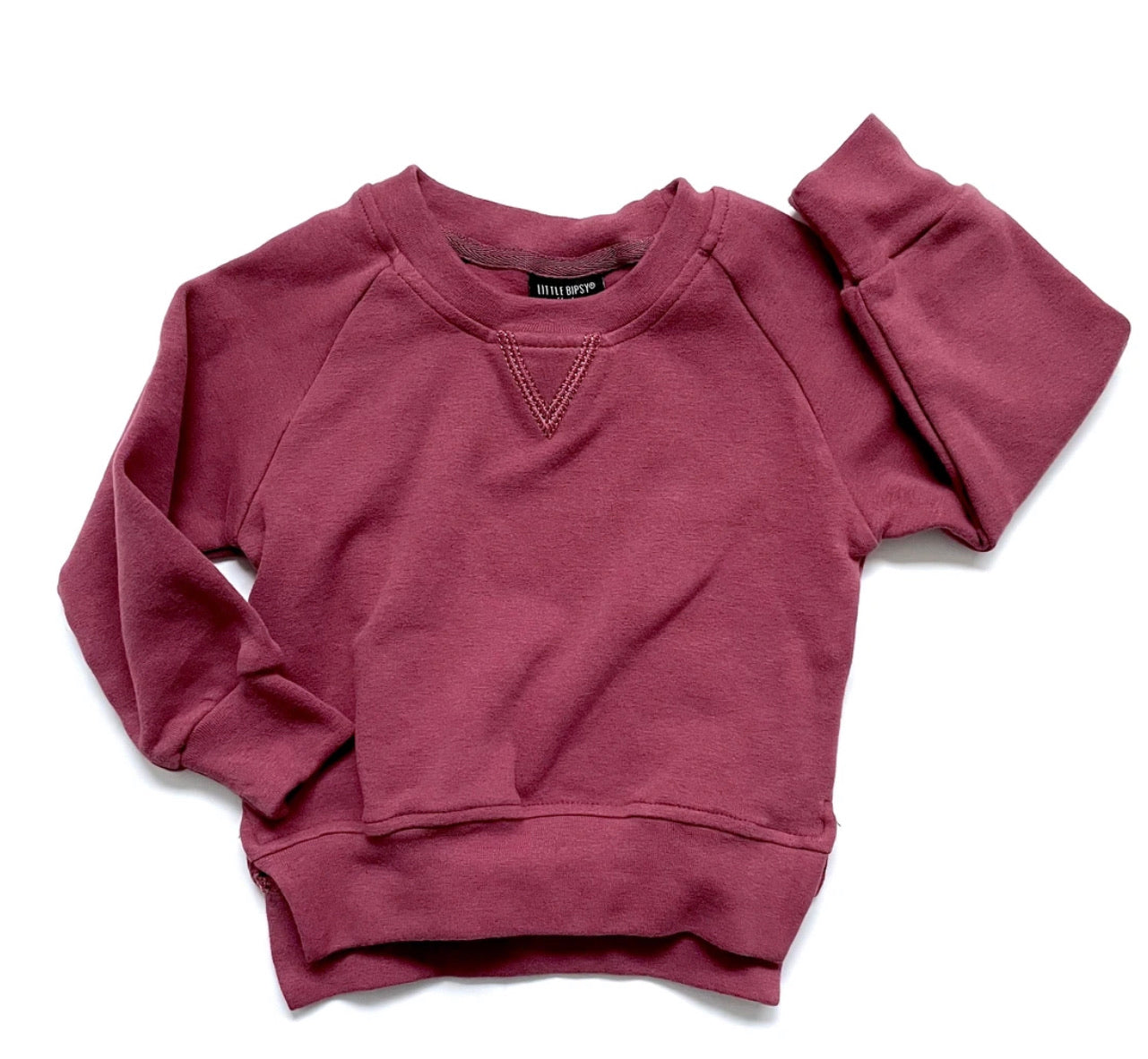 Little Bipsy Pullover - Plum