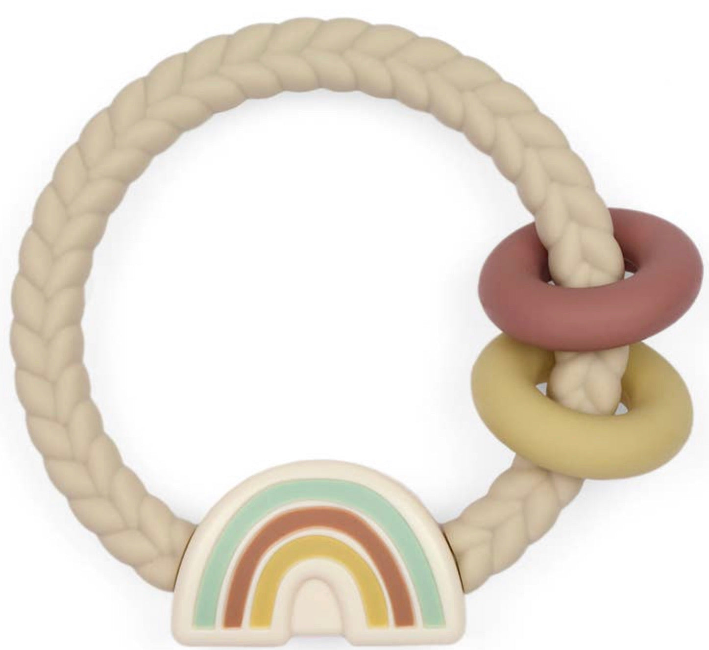 Itzy Ritzy Rattle Silicone Teether Rattle