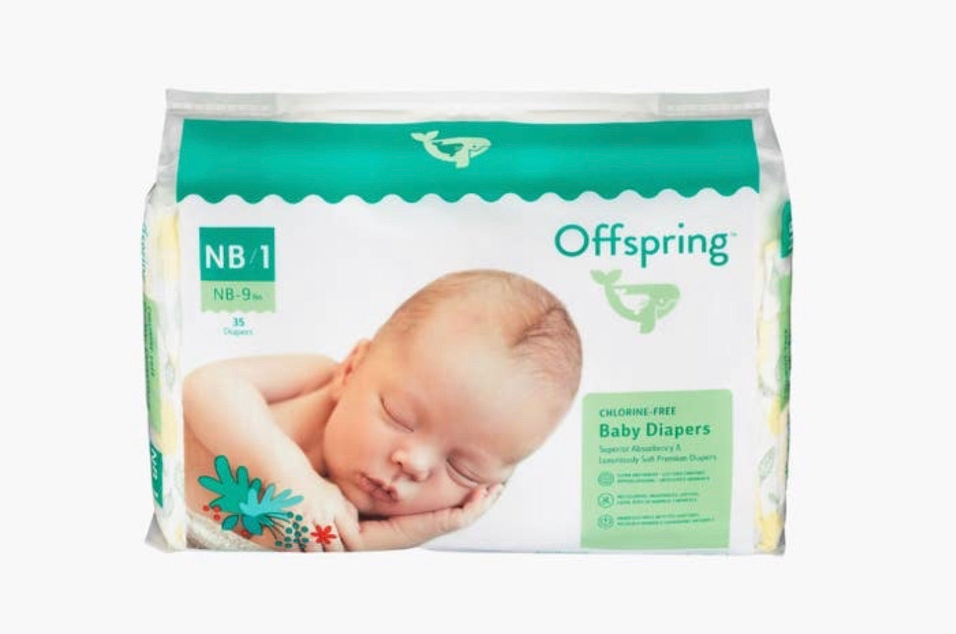 Offspring Chlorine Free Baby Diapers
