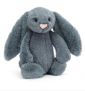 Bashful Dusky Blue Bunny - Medium Jelly Cat