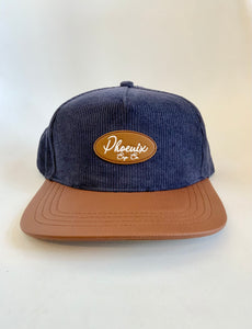 Navy Cord hat