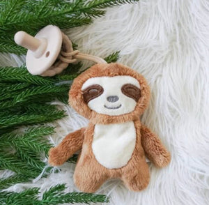 Sweetie Pal Plush and Pacifier Sloth
