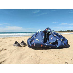 Outdoor beach storage bag surf