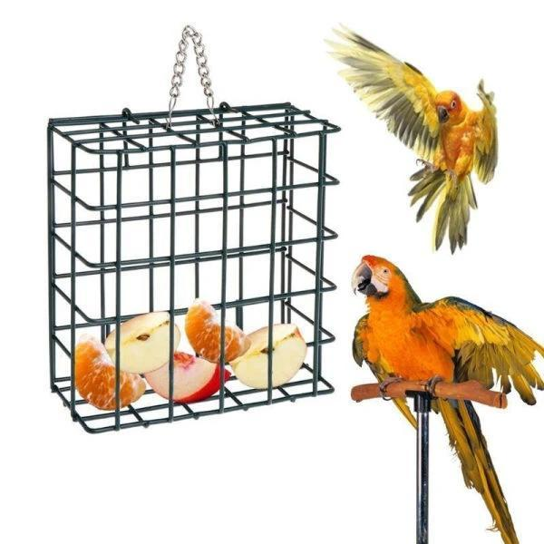 Mangeoire cage perroquet