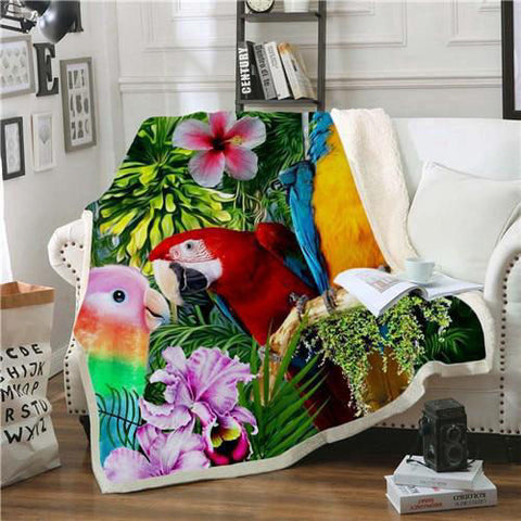 Couverture Perroquet Jungle