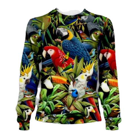 Pull Perroquet Jungle | Perroquet-Royal