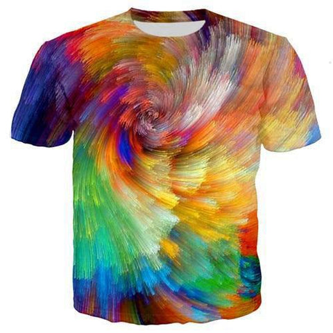 T-Shirt Multicolore | Perroquet-Royal