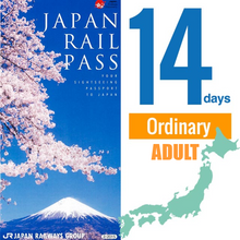 Load image into Gallery viewer, [Ordinary] Japan Rail JR Pass 14 Days Nationwide