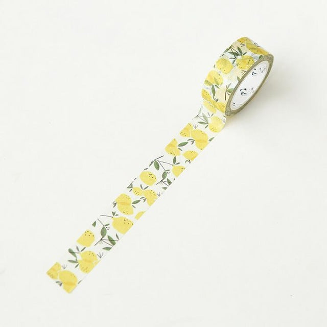 Summer Lemon Washi Tape