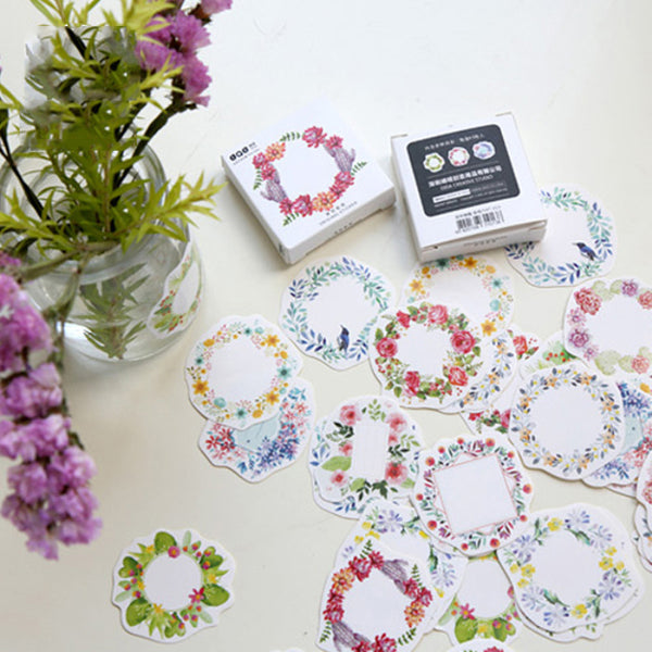 Floral Wreaths Stickers