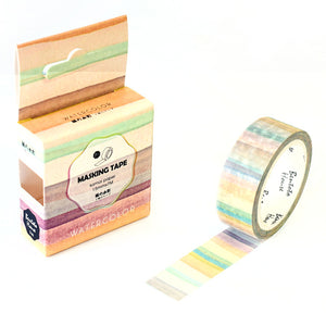 Rainbow Stripes Washi Tape