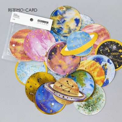 Intergalactic Planet Stickers