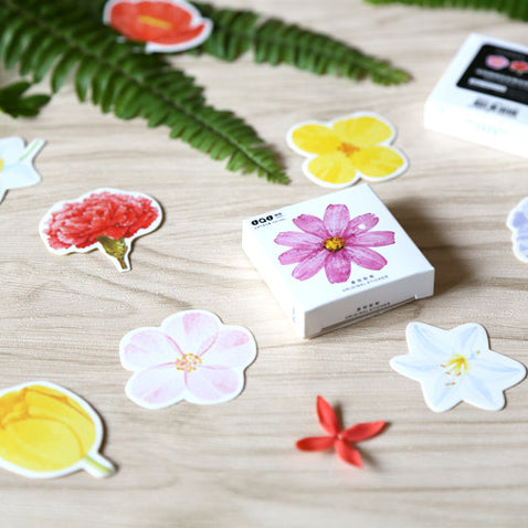 Tropical Flowers Stickers