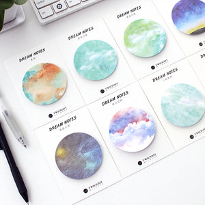 Far Out Galaxy Sticky Notes