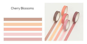 5 Piece Classic Washi Set- Cherry Blossoms