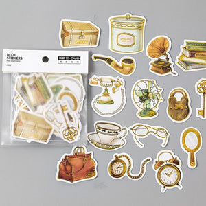 Antique Objects Stickers