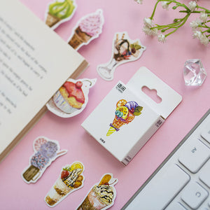 Ice Cream Sundae Stickers