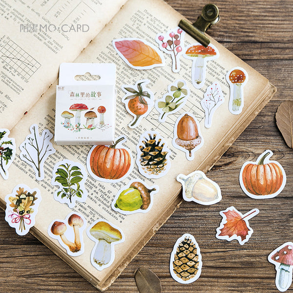 Fall Forest Stickers