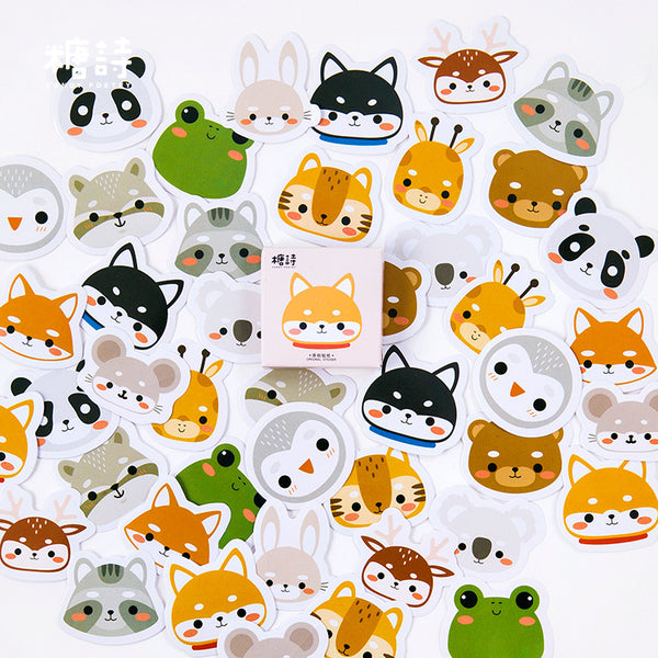 2 Boxes Cute Kawaii Animal Stickers