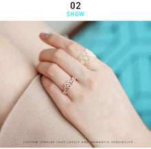 Load image into Gallery viewer, Sterling Silver Open Rings