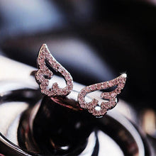 Load image into Gallery viewer, Adjustable Angel Wings Ring - Hanna Rings