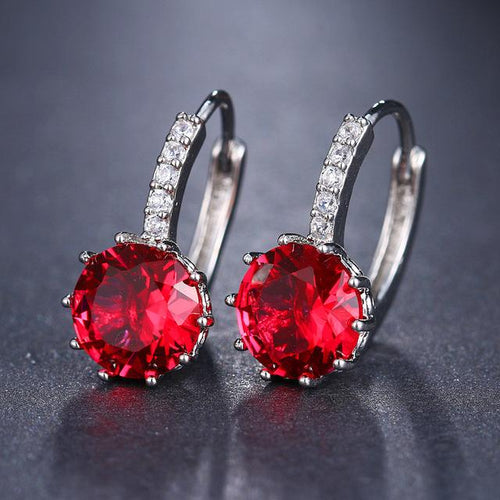 10 Colors  Element Stud Earrings - Hanna Rings